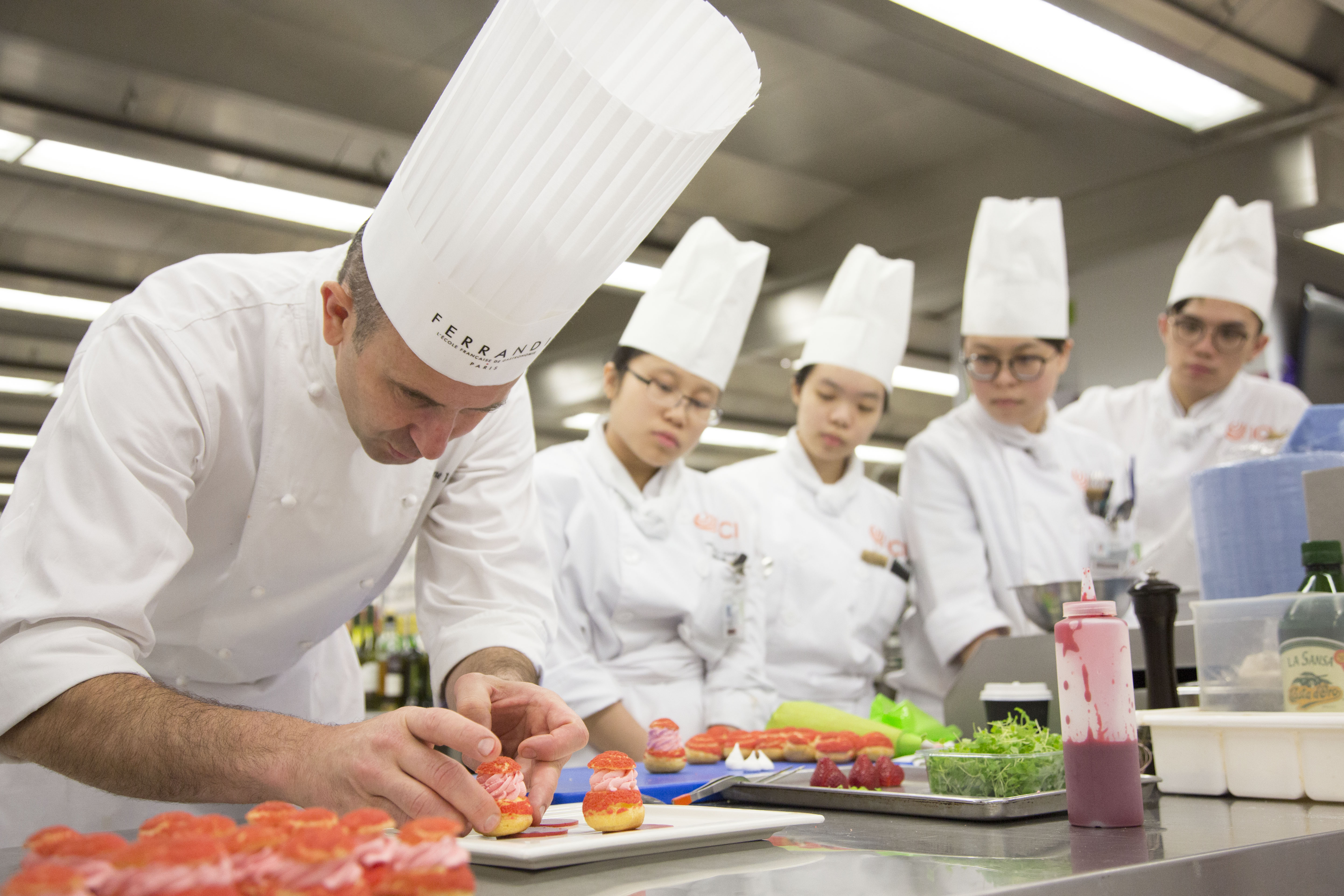 FERRANDI Paris offers a nine-day Certificate in Contemporary French Cuisine programme with ICI