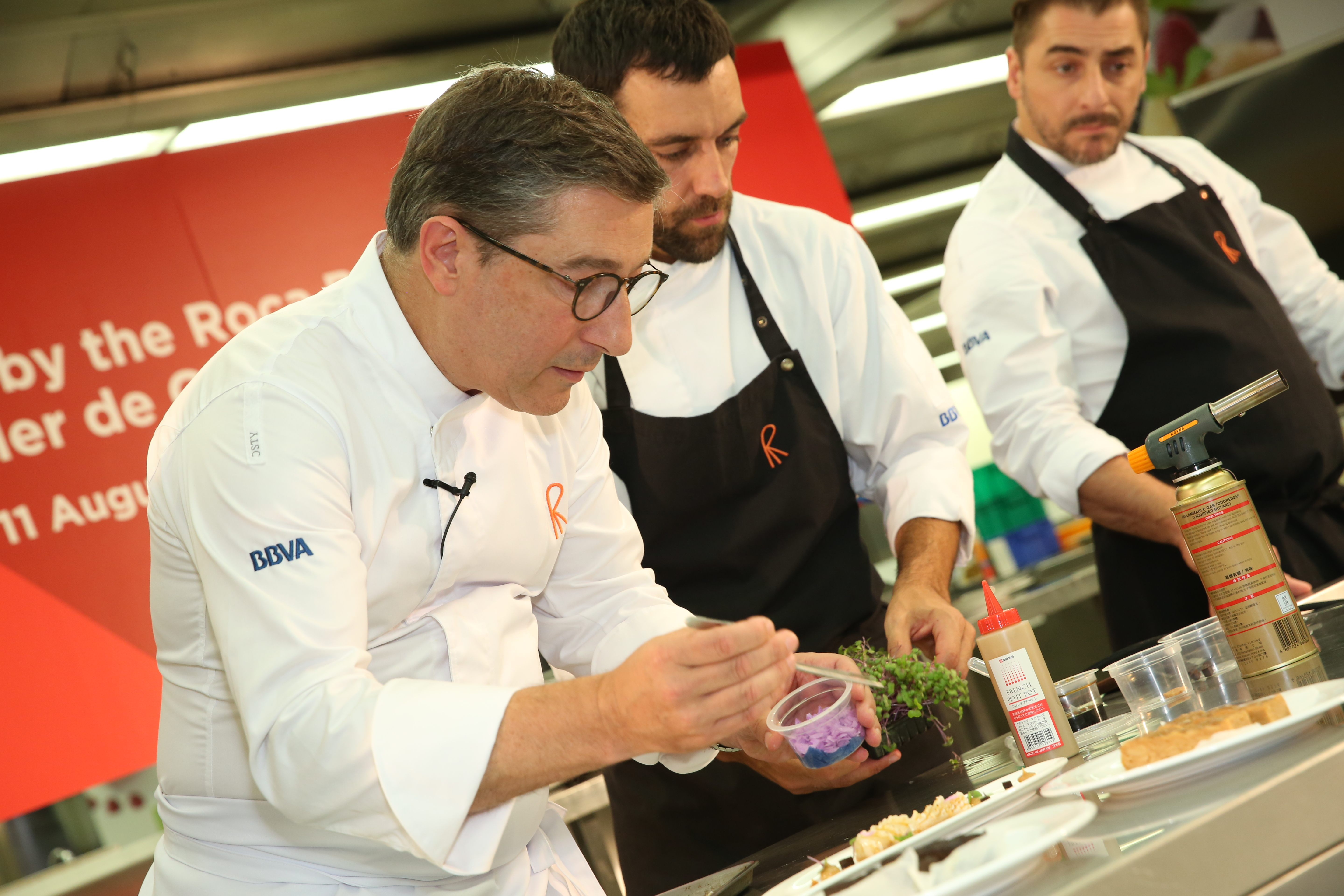 Master Class by the Roca Brothers from the World's Best Restaurant in 2015