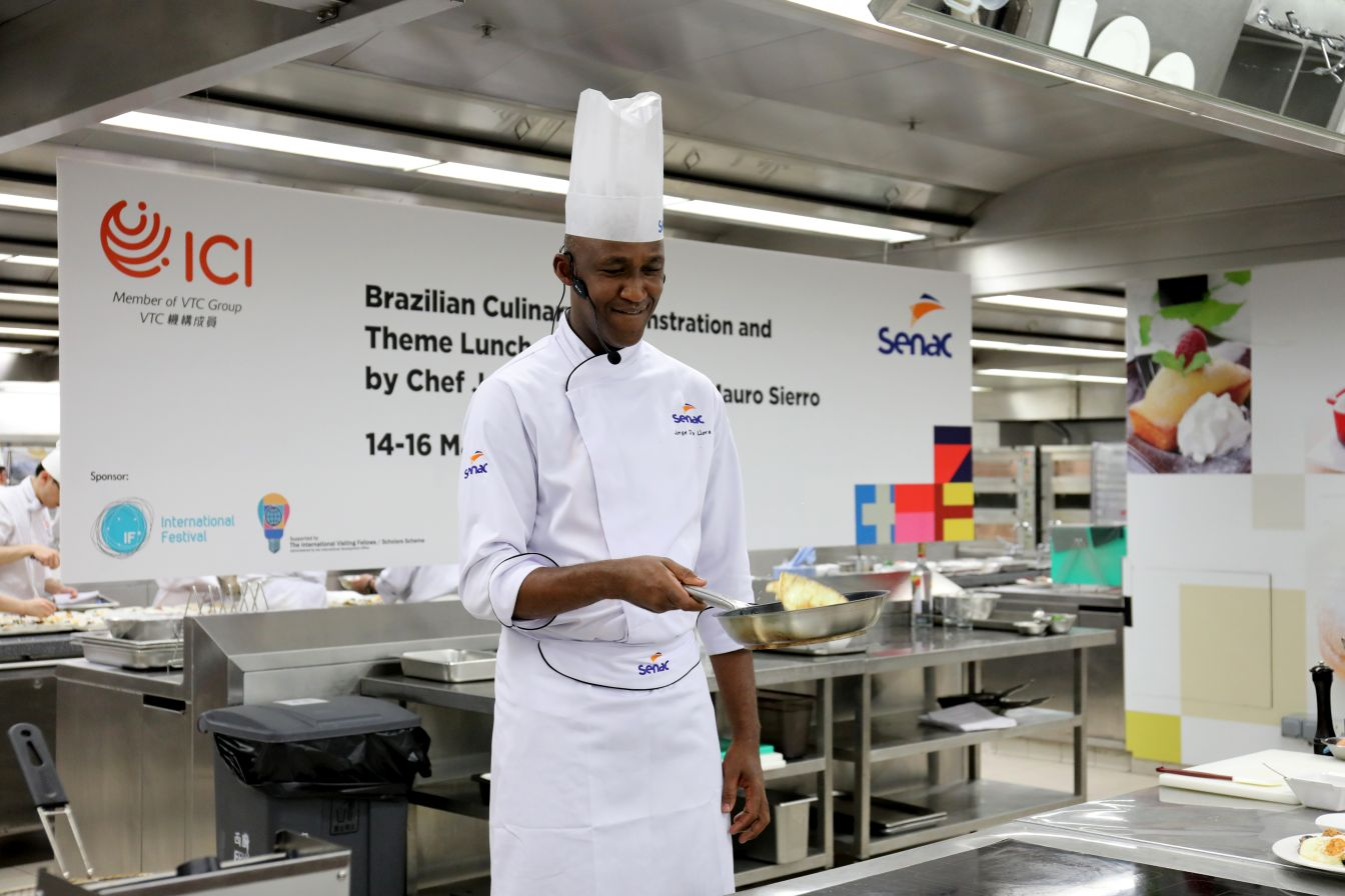 A taste of Brazilian cuisine by Master Chefs from renowned Centro Universitario Senac