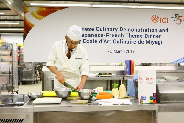 VTC 35 Event: Culinary Demonstration and Theme Dinner by Ecole d'Art Culinaire de Miyagi