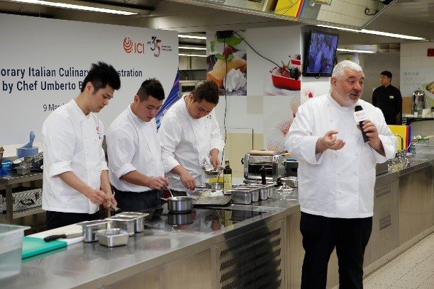 VTC 35 Event: Italian Culinary Demonstration by 3 Michelin star Chef Umberto Bombana